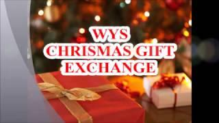 World YouTuber School 聖誕節活動//CHRISMAS GIFT EXCHANGE// WYS 圣诞礼物交换