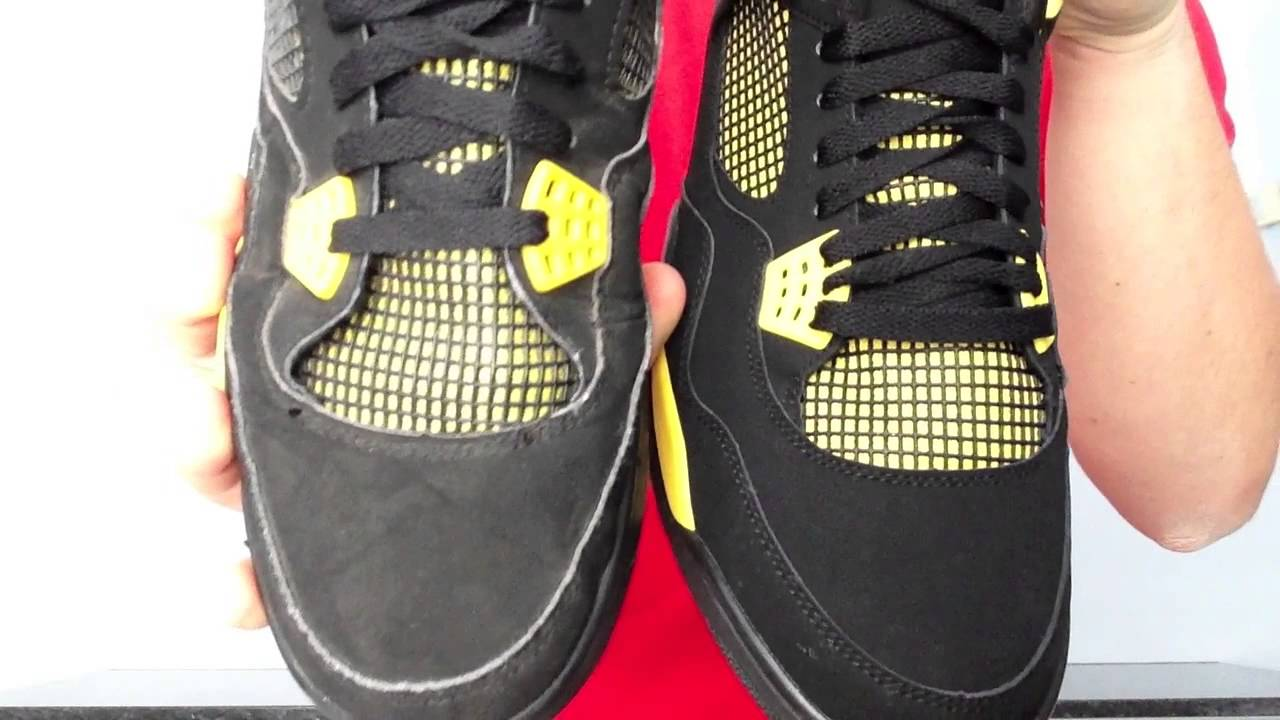 350ac23dd60a1f closeout jordan 4 retro thunder 2012 308497 008 ffefc c3a1e  purchase  champ1on23 jordan thunder iv real vs. fake comparison for soletalk youtube  73f59 e51b1
