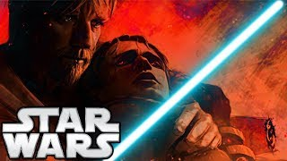 What If Obi-Wan DIDN'T Leave Anakin on Mustafar? (BIG FIGHT) - Star Wars Theory