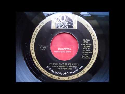 the fashions - when love slips away