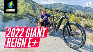 Is This The Ultimate Enduro E-Bike? - We Ride The 2022 Giant Reign E+ At EWS-E