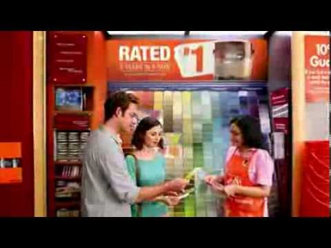 TV Spot - The Home Depot - Let's Paint - Never Stop Improving