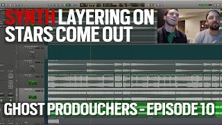 Synth Layering on Stars Come Out - Disco Fries - GHOST PRODOUCHERS