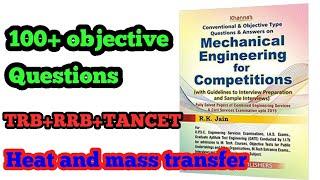 Mechanical Objective question 100+  TRB, TANCET