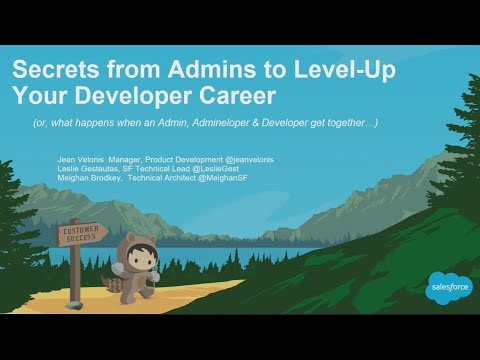 Secrets from Admins to Level-Up Your Developer Career (Panel) (1)