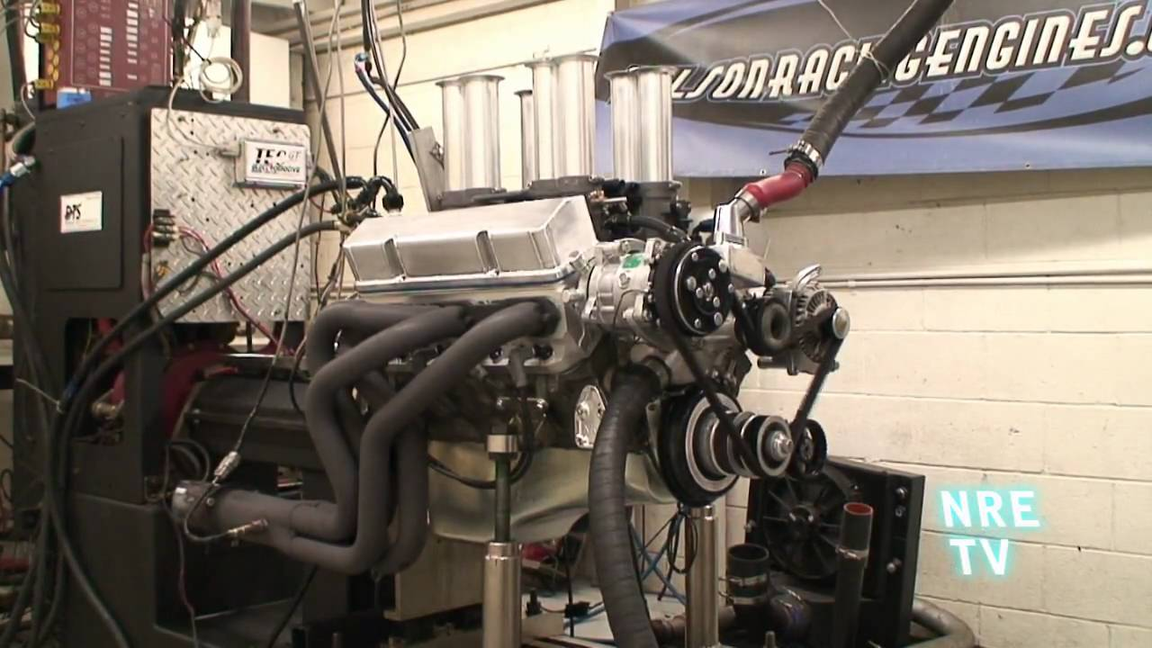 New EFI Hilborn 8 Stack 406 SBC from Nelson Racing Engines  NRE  Great for  Mustang, Camaro