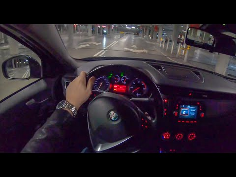 Alfa Romeo Giulietta Night | 4K POV Test Drive #186 Joe Black