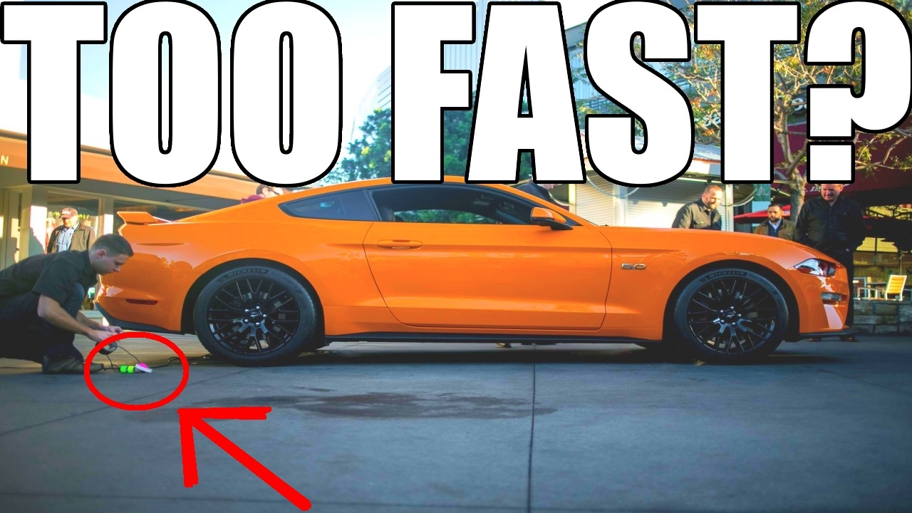 Is The 2018 Mustang Already Too Fast Youtube