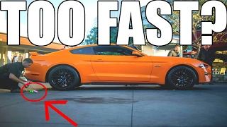 Is The 2018 Mustang Already Too Fast?