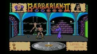 BARBARIAN II (AMIGA - FULL GAME + ALL DEATH SCENARIO'S)