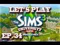 Let s play the sims 3 university life romance and betrayal ep 34 mp3