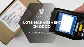 Lots Management with a Barcode Scanner