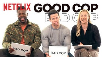 Good Cop, Bad Cop with Mark Wahlberg, Winston Duke and Iliza Shlesinger from Spenser Confidential