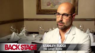 Stanley tucci talks about preparing for his role in the new film 'the lovely bones,' and working with director peter jackson.www.backstage.com