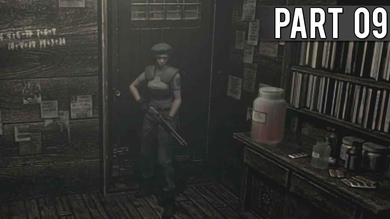 Resident evil hd remaster jill walkthrough part 9 for Plante 42 resident evil