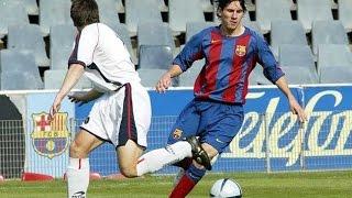 Lionel Messi vs Girona ● Barça B ● Segunda B 04/05