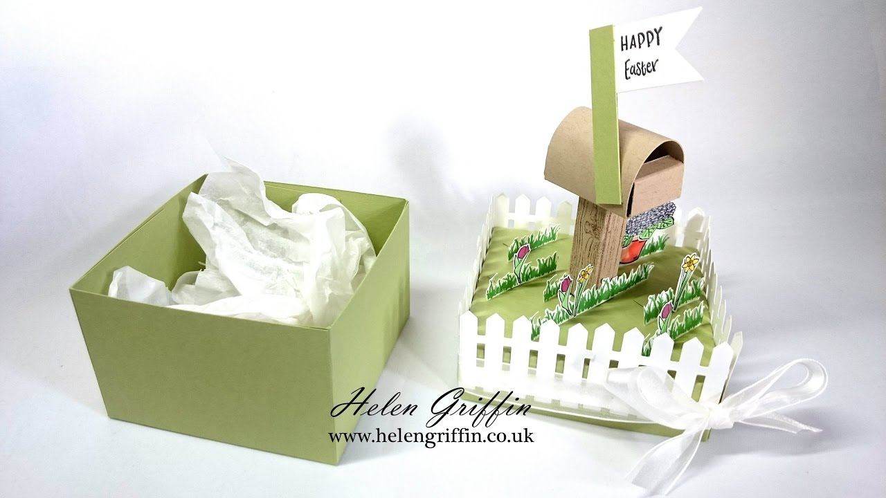 Springtime7 springeaster picket fence gift box youtube springtime7 springeaster picket fence gift box helen griffin uk negle Images