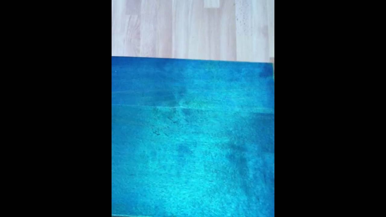 Blue Turquoise Wood Stain With Wood Dye Colors Kit Youtube