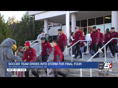 Van Horn High School Soccer Team Making History Featured on KCTV