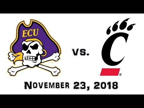 November 23, 2018 - East Carolina Pirates vs. Cincinnati Bearcats Full Football Game