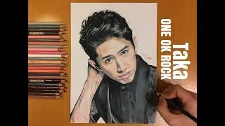 Speed drawing︱Drawing Taka(森內貴寬)@ONE OK ROCK