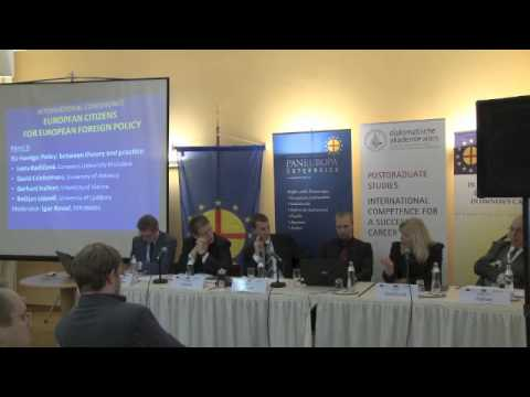 European Citizens for European Foreign Policy - Panel 3