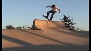 Brandon Hanson - Skateboard Montage #14.