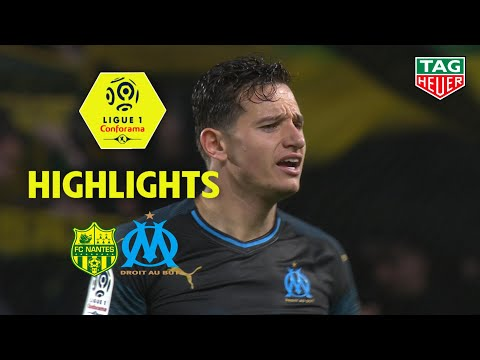 FC Nantes - Olympique de Marseille ( 3-2 ) - Highlights - (FCN - OM) / 2018-19