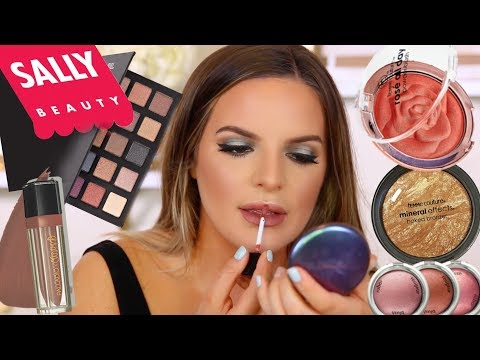 FULL FACE USING ONLY SALLY BEAUTY MAKEUP.. Hits & Misses | Casey Holmes