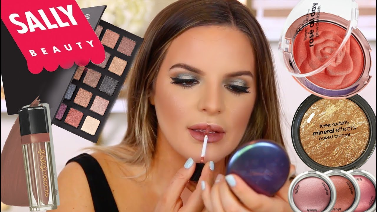 FULL FACE USING ONLY SALLYS BEAUTY MAKEUP.. Hits & Misses | Casey Holmes