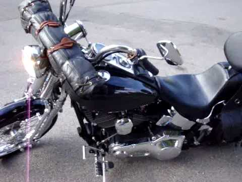 2000 harley springer softail suicide clutch slap shift ...