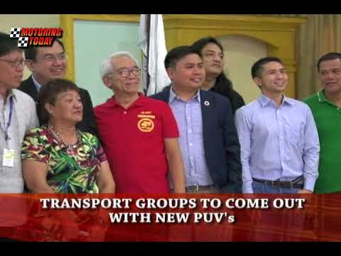 Transport Groups to Come Out with New PUV's   Motoring News