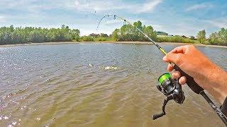 Решил поймать КАРАСЯ НА УЛЬТРАЛАЙТ и вот что из этого вышло! Рыбалка 2019 на микроджиг