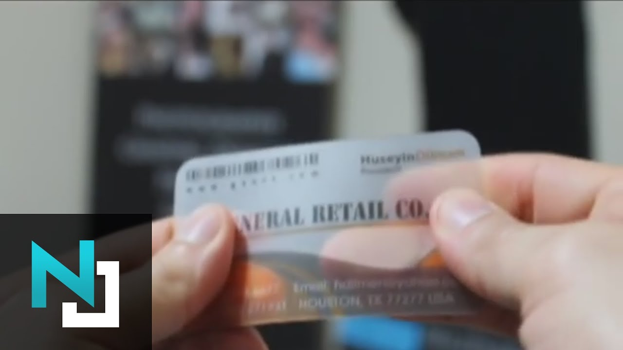 Plastic Business Cards - Gift Cards - YouTube