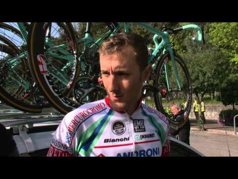 Giro del Trentino 2014: Patrick Facchini before stage2