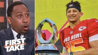 Patrick Mahomes is too valuable to play basketball – Stephen A. | First Take