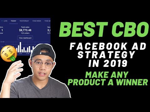 Best Three CBO Testing Strategy Facebook Ads | Shopify Dropshipping in 2019 thumbnail