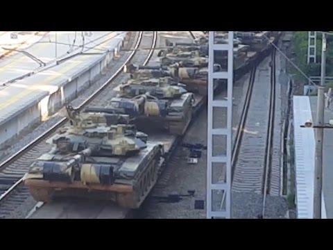 Переброска российской военной техники и вооружения из Абхазии в РФ
