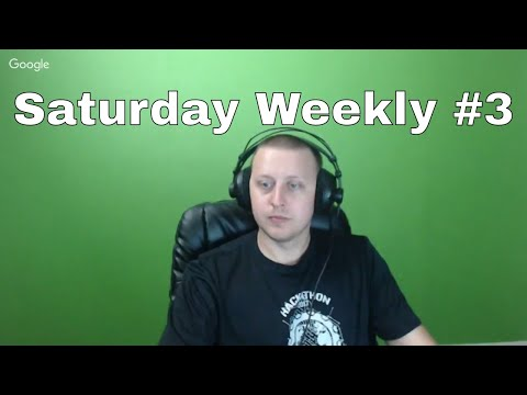 Saturday Weekly on Friday ;) AMA, Week 2 of my new job and CodeFights.com