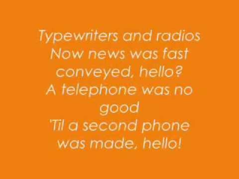 Horrible Histories: Victorian Inventions Lyrics