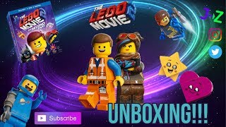 Lego Movie 2: The Second Part Target EXCLUSIVE DVD/Blu-Ray + Mini FIGURES UNBOXING!