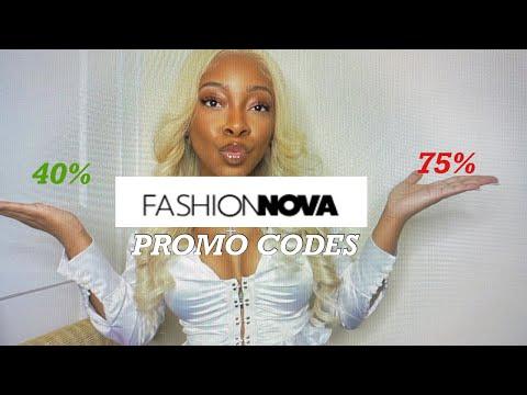FASHION NOVA DISCOUNT/PROMO CODES| 75% OFF 2021