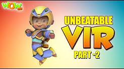 Vir The Robot Boy Unbeatable Vir Part 2 Cartoon Movies For Kids