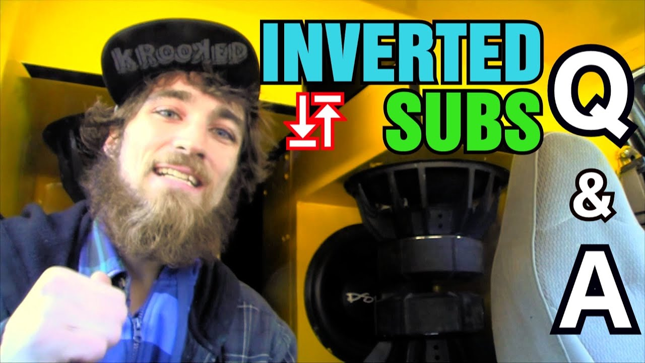 Why Do People Invert Subwoofers EXO Car Audio Q A Inverted – Inverted Subwoofer Wiring Diagram