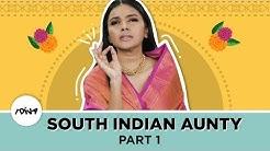 South Indian Aunty Part 1 | Prapti Elizabeth As A Mallu Aunty | iDiva