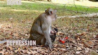 JANNA DEPRESSION HUG MUM FOREVER, SHE AFRAID OF SOMEONE KIDNAP HER FROM AGAIN# monkey #