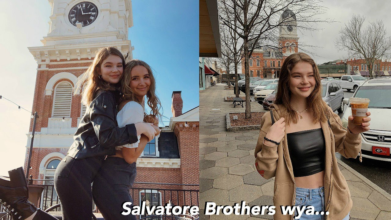 VISITING MYSTIC FALLS  + staying in the Salvatore Brother Room!!!