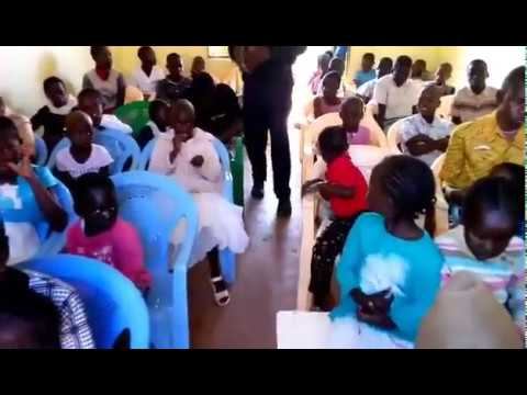 Brother Haron Praying for Children School Exams in English 10 22 2018 WFF Kenya