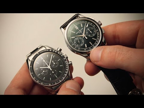 £70,000 Patek Philippe vs £4,000 Omega | Watchfinder & Co.: Watchfinder & Co. presents:  Let's get straight to it—the Patek Philippe 5170P in my right hand is worth almost 20 times as much as the Omega Speedmaster Moonwatch in my left. With the Omega clocking an RRP of just over £4,000, that places the 5170P at a whopping £73,000. While some of that cost gets you a platinum case and diamonds on the dial, it's safe to say that most of it is spent on the bit you don't often get to see—the calibre CH 29-535 PS movement. But with the Omega carrying a similar hand-wound manual chronograph calibre 1863 movement for a fraction of the price, what are you really getting when you spend all that extra money?  Featured Watches: Patek Philippe Complications 5170P-001 Omega Speedmaster Professional Moonwatch 3573.50.00  Shop now for Patek Philippe watches: http://www.watchfinder.co.uk/Patek%20Philippe/Watches  Shop now for Omega watches: http://www.watchfinder.co.uk/Omega/Watches  Watchfinder is the number one place to buy, sell and exchange premium pre-owned timepieces. Discover more exceptional watches at http://www.watchfinder.co.uk