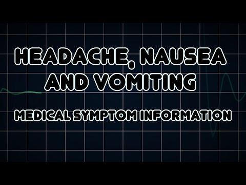 hqdefault - Headache Nausea Back Pain Symptoms What Is This